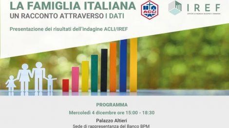 La Famiglia italiana. Un racconto attraverso i dati