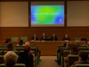 Gianluca Budano alla presentazione del 7° rapporto sulla povertà sanitaria